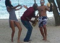 Sugar Bay Resort and Spa anniversary, saxophone, reception muisc, DJ, wedding music, wedding band