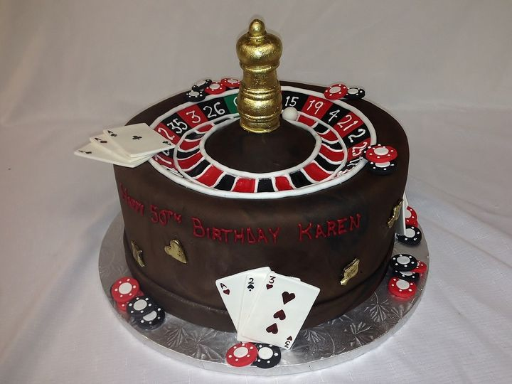 Tmx 1414422502406 Roulette Wheel Cake Valley Cottage wedding cake