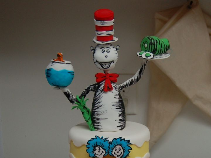 Tmx 1414436132417 Cat In The Hat Valley Cottage wedding cake