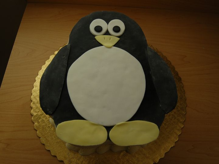 Tmx 1414436164496 Penguin Valley Cottage wedding cake