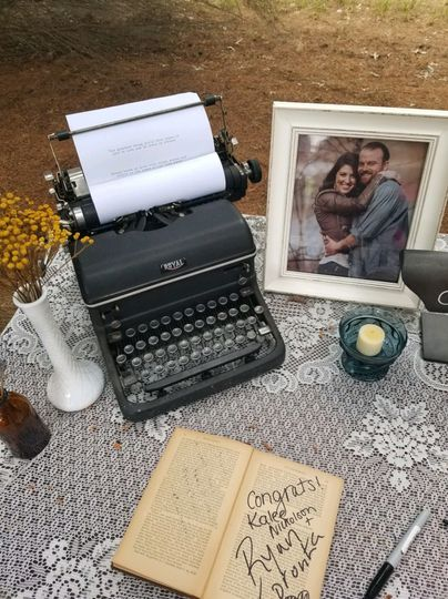 Vintage woodland backyard wedding 6/23/18