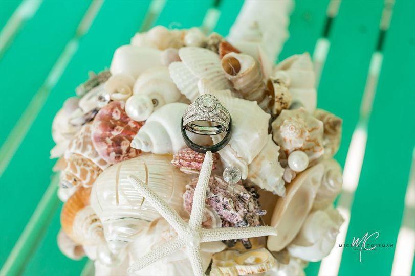 Small, intimate destination Wedding in Pawleys Island, SC. July 2018