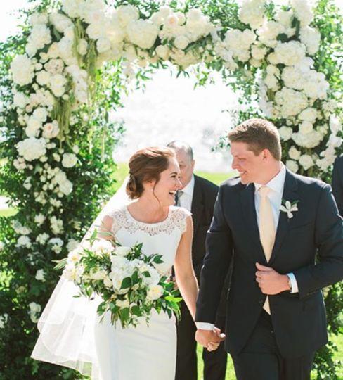 L'auberge wedding