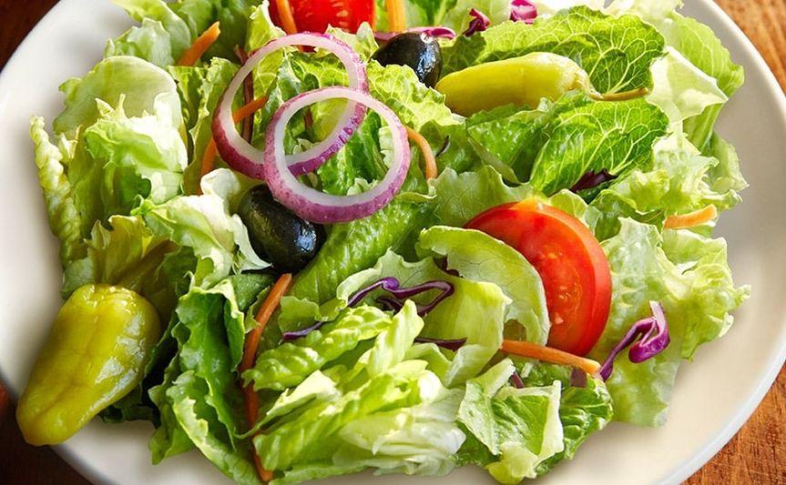 Vibrant green salad