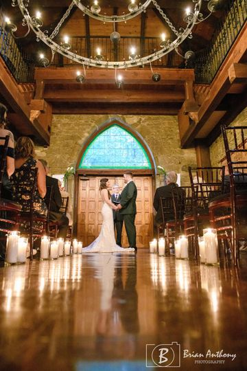 Romantic Great Hall Ceremony