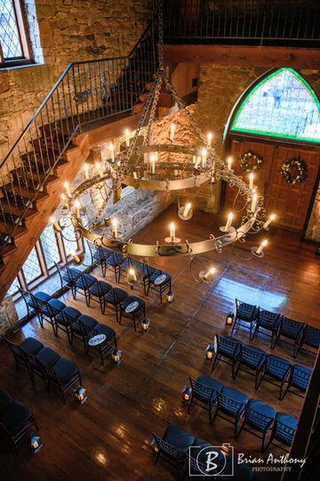 Christmas Castle Ceremony