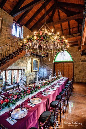 Romantic Great Hall Reception