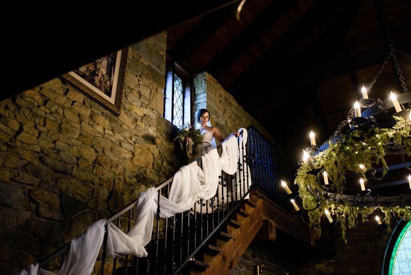 Fairytale Bridal Entrance