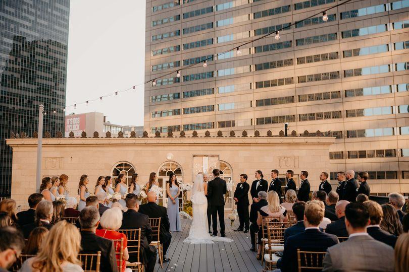 Rooftop Ceremony | Camera Shi