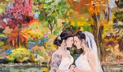 Cherished on Canvas- Event Artist