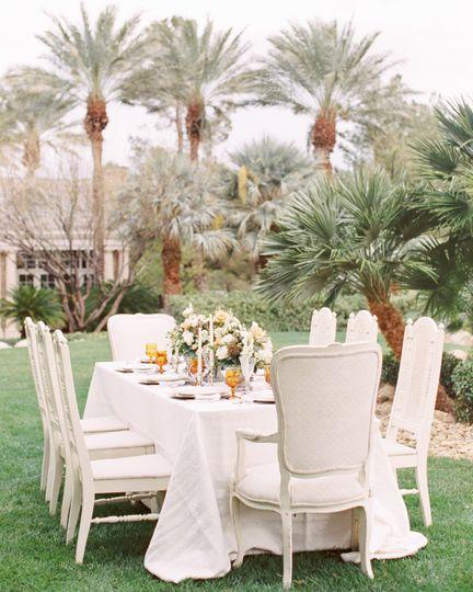 Outdoor setup | Madeleine Collins Photography