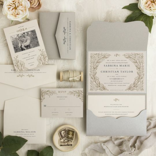 Clean white and silver palette