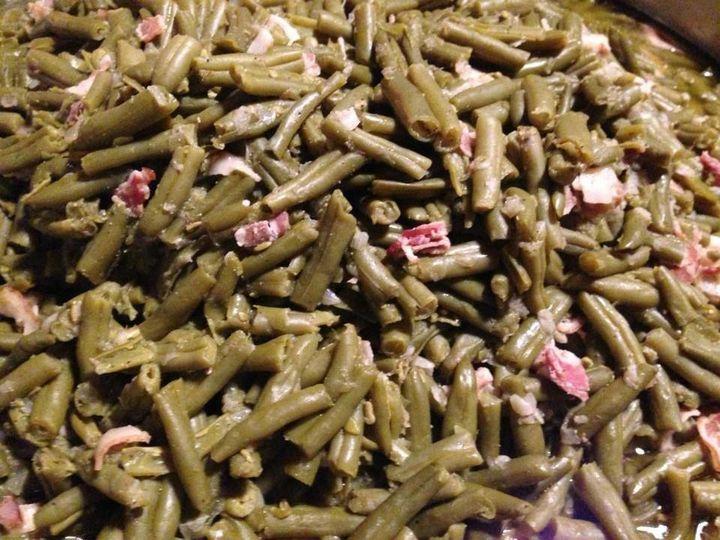 Country green beans from the Hoosier Buffet menu