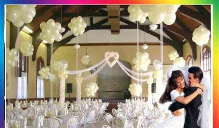Tulsa Wedding Ministers & Balloon Decor