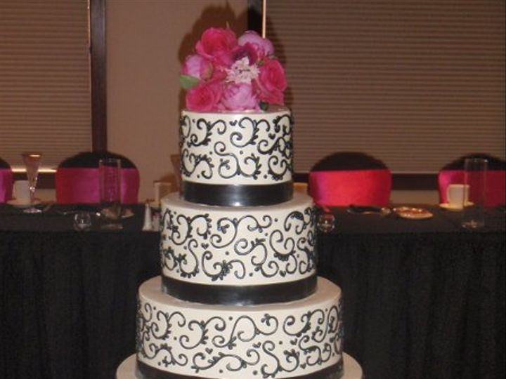 Tmx 1327604050274 P7170372 Chesterfield, MO wedding cake