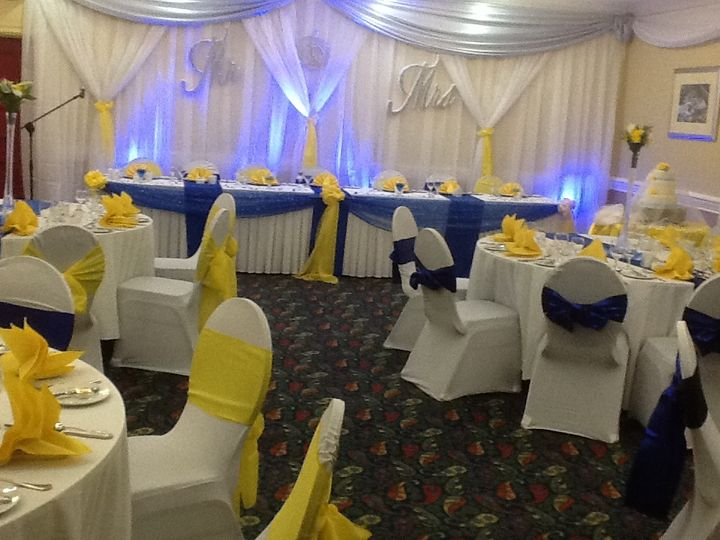 Decor done by us at Knutsford