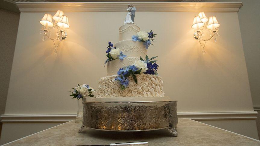 Wedding cake at Ashton Gardens