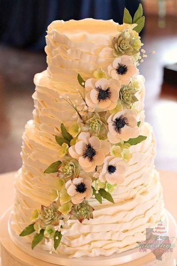 The Best Little Cake Shop In Texas - Wedding Cake - La Grange, TX ...