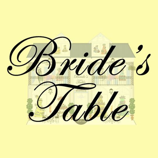 Brides Table