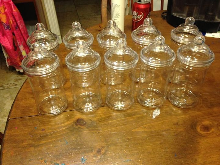 Tmx 1460786239433 10 Pc Jars Wiyh Lids For Candy Buffet For Wedding  Oklahoma City, OK wedding eventproduction