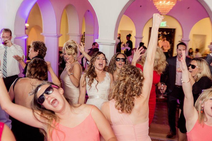 Dancing at Casa Romantica