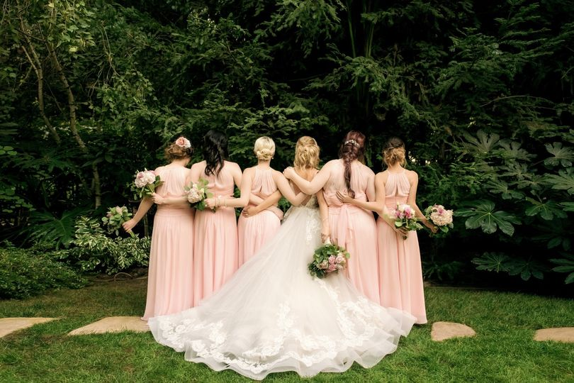 Bride + Bridesmaids Portrait