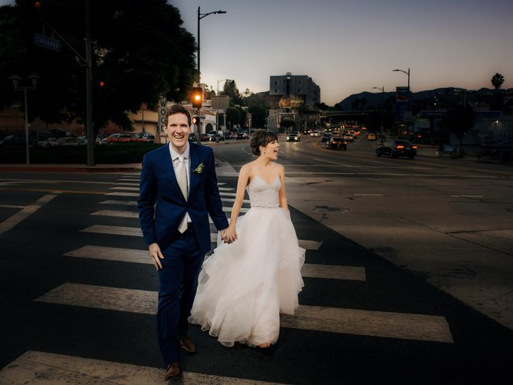 Fun & Candid Hollywood Wedding