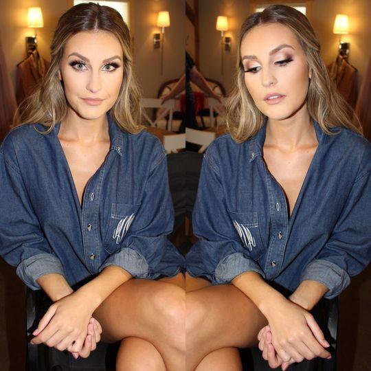 Bridemaids makeup HD with lash