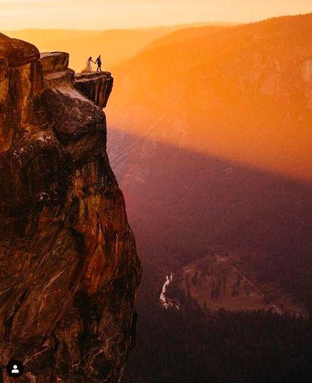 Taft Point Sunset