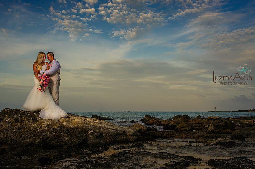 brittanylawrence wedding riu cancun by luzmaria av
