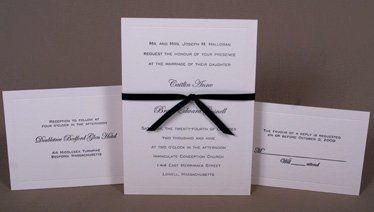 Close-up of pocketfold centerpiece.  2-color letterpressed on Crane's Lettra (110#) and mounted on...