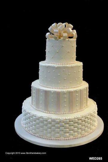 Basket Weaving Houston : Three brothers bakery wedding cake houston tx