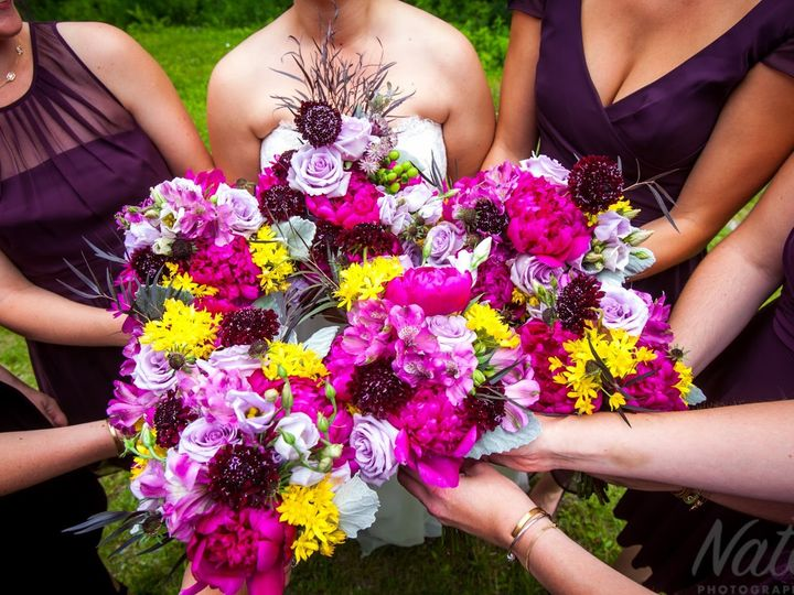 Tmx 1454538862187 Giovanna And Tomlogo0265 Chester, VT wedding florist
