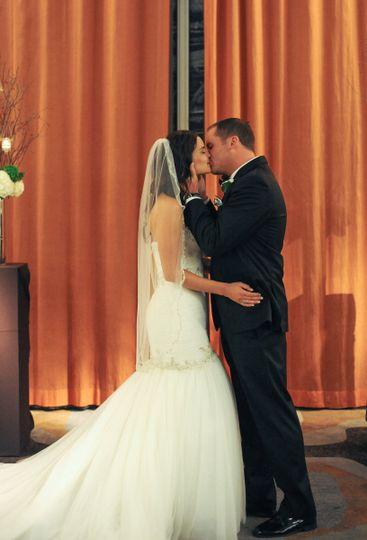 Bridgid and Ryan's elegant ceremony