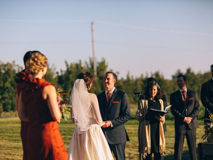 Tmx 1424277815233 Jillian And Daniels Farm Wedding Chicago, Illinois wedding officiant