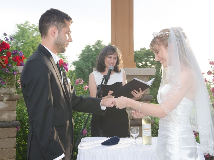 Tmx 1424370606278 Stephanie And Alexs Ring Ceremony Chicago, Illinois wedding officiant