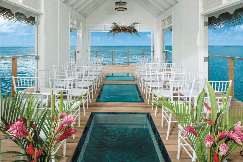 Say I Do over water chapel