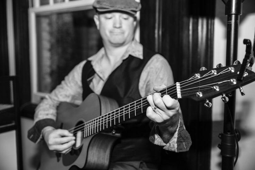 Steve Rayborn wedding guitar