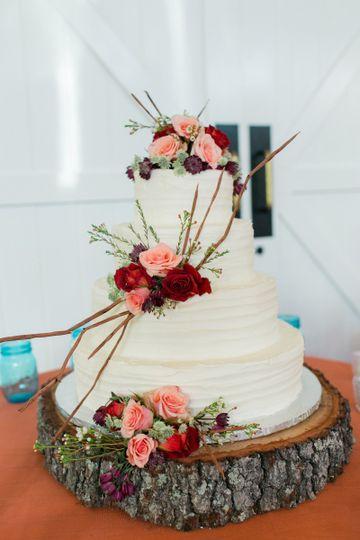 kaitlynkevinwedding 1147 wedding cake