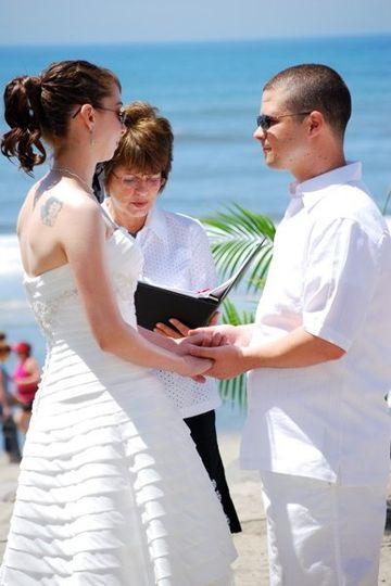 Debbie and Michael Paul  Oceanside Beach