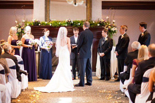Ceremony at River Run Country Club Photo by Seth Snider Photography