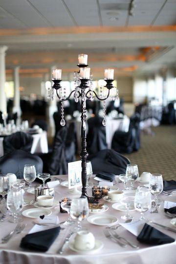 candelabra black