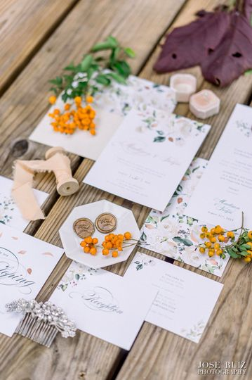 LiliWeds Stationery