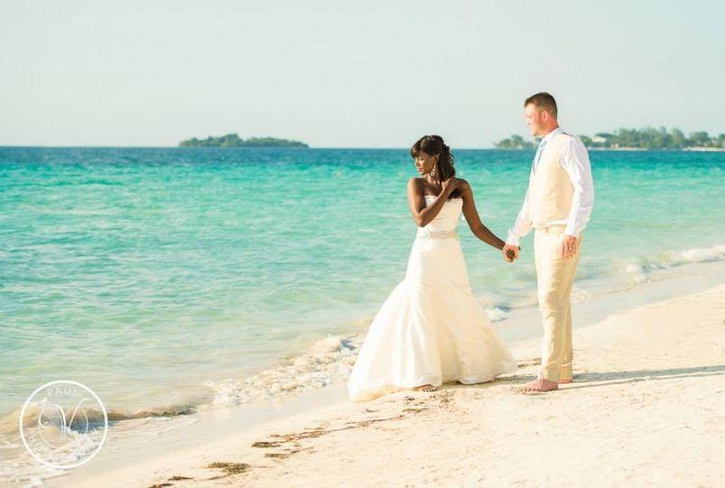 Beach Wedding in Negril Jamaica