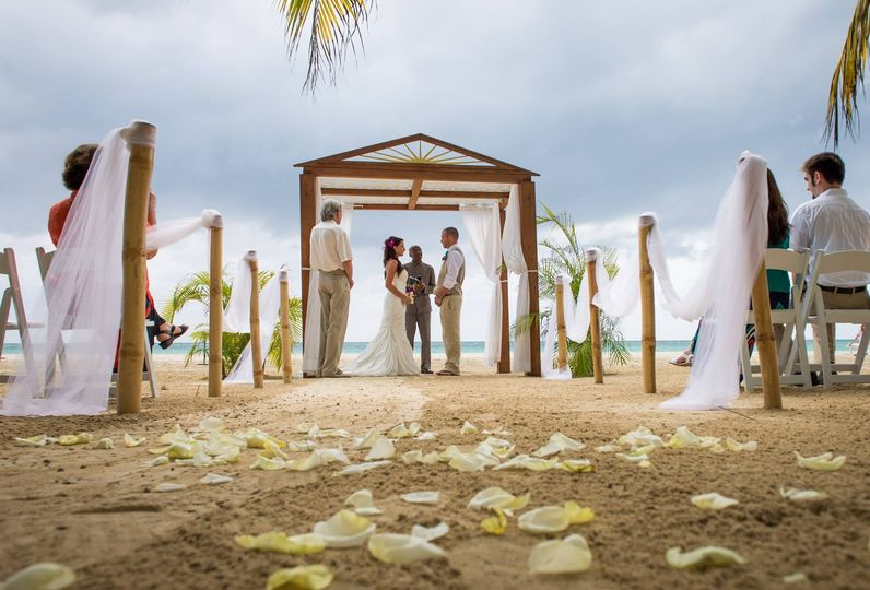 Ceremony in Negril Jamaica