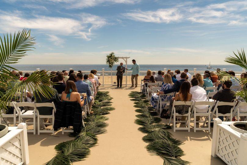 Upper Deck Ceremony