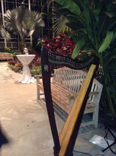 Garden wedding gig