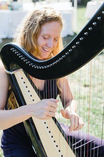 Harpist Shelley Otis