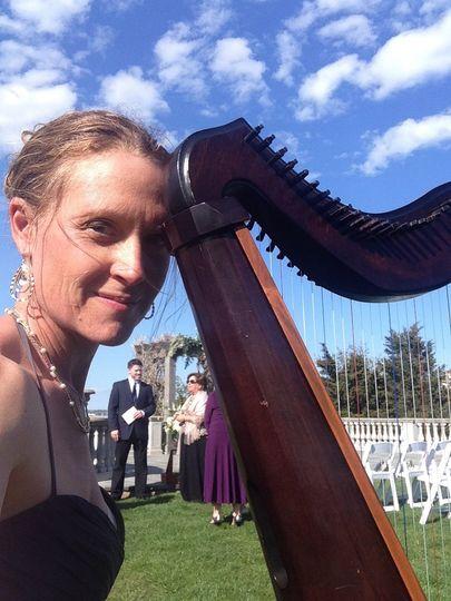 Harp at Castle Hill