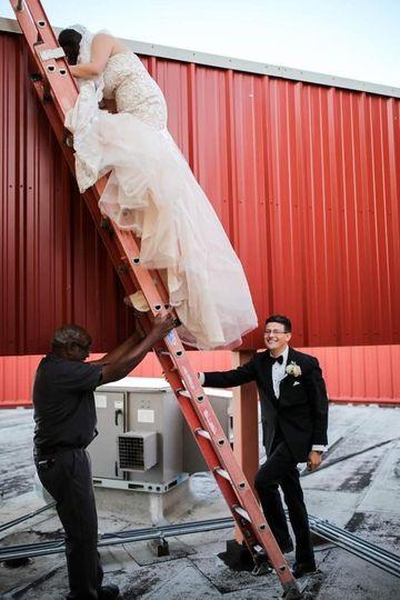 Ladder Bride/Groom